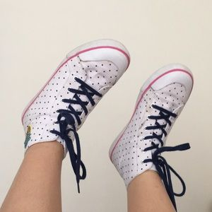 Gymboree Pineapple Dot Sneakers